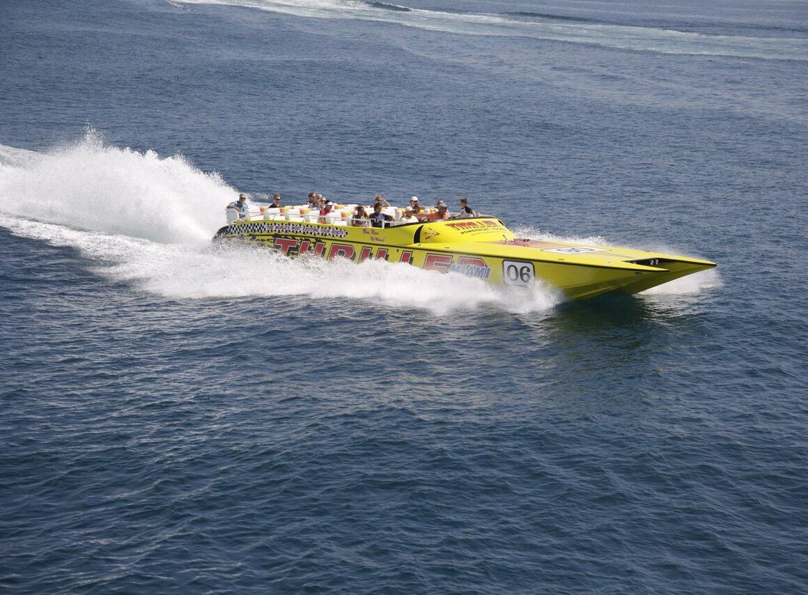 Speed Boat Rental in Miami