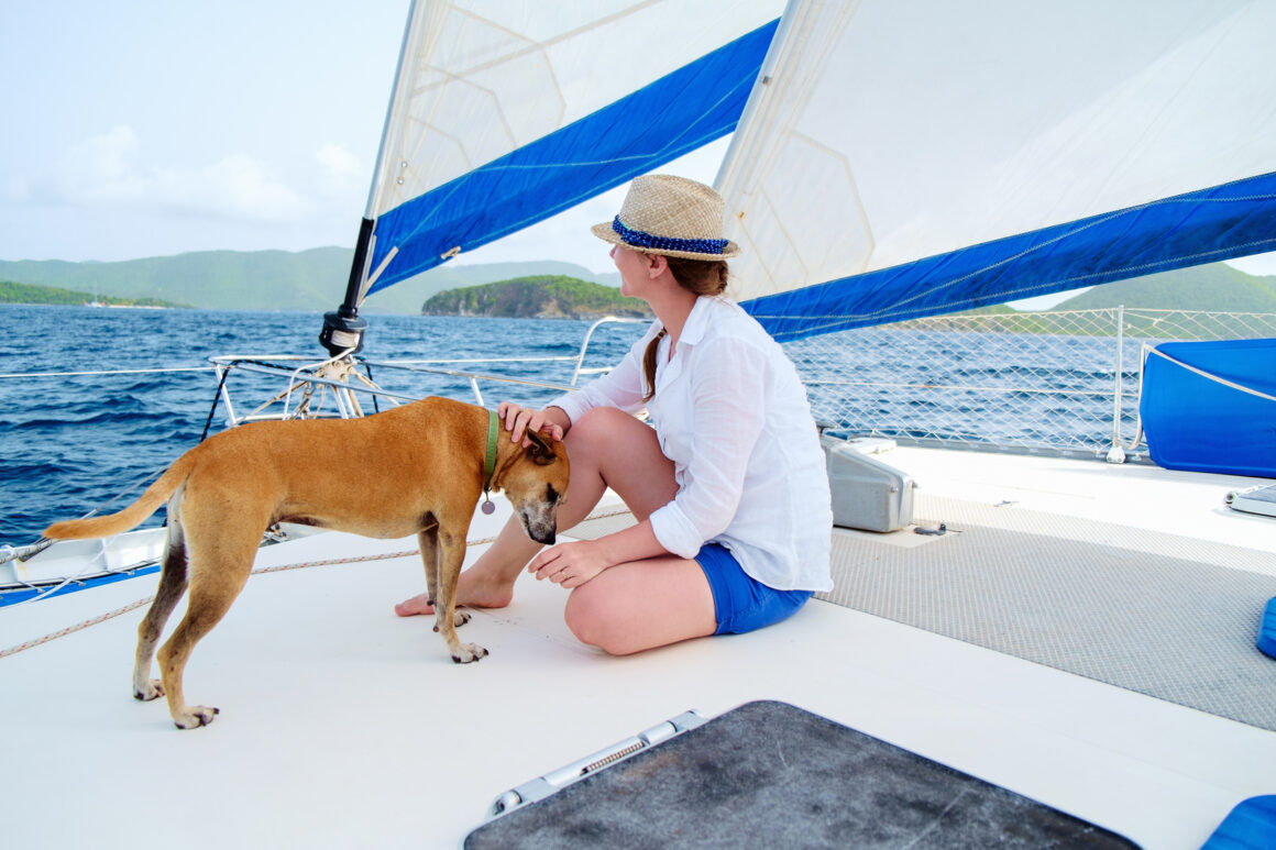 Chartering a Boat with Your Dog