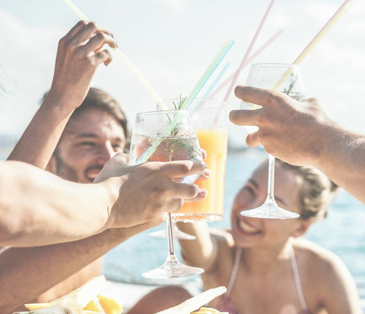 Bar Hopping in Miami Rental Boats